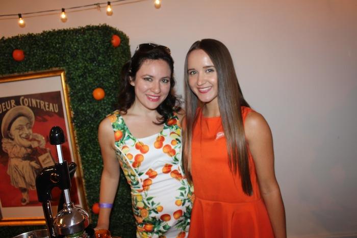 Fashion Week Single Dress with Oranges Cointreau NYFW Style 360 Lounge September 2014 NYFW