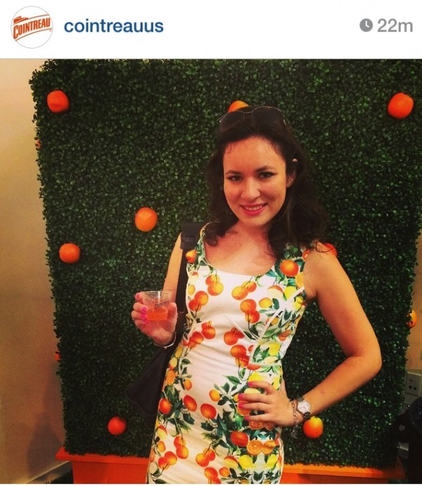 Regram From Cointreau on Instagram New York Fashion Week September 2014