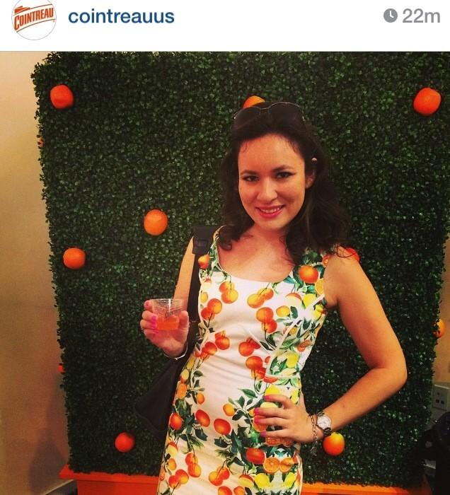 Regram From Cointreau on Instagram New York Fashion Week September 2014