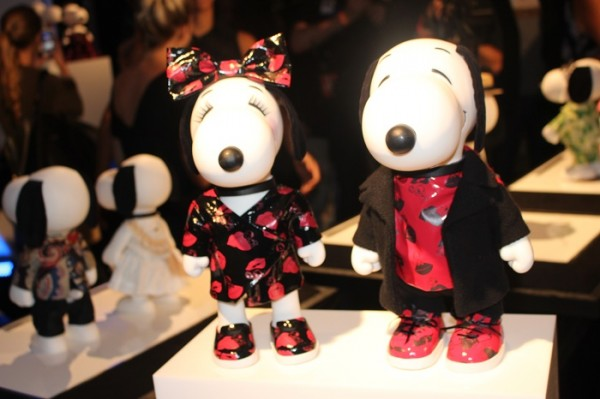Snoopy and Belle in Fashion NYFW SS2015 Museum Collection Debut