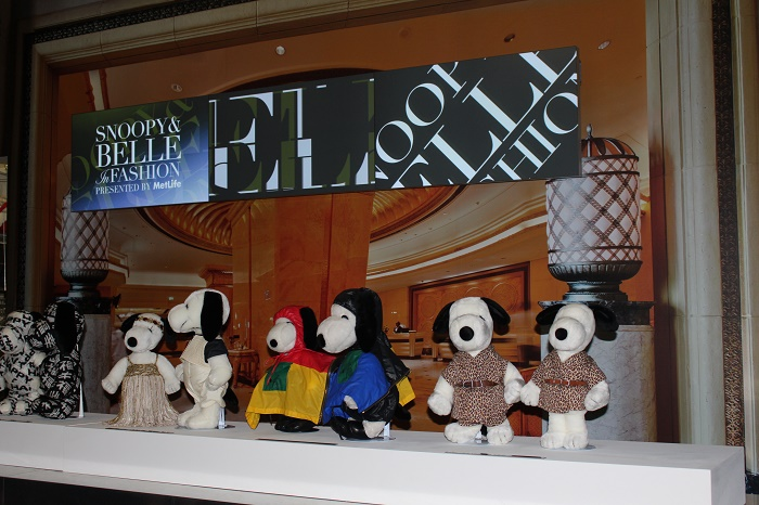 Snoopy and Belle in Fashion NYFW