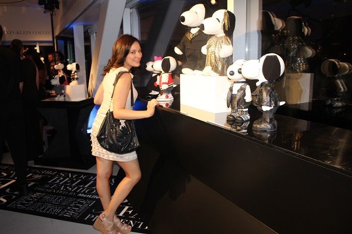 Snoopy and Belle in Fashion Party New York Fashion Week