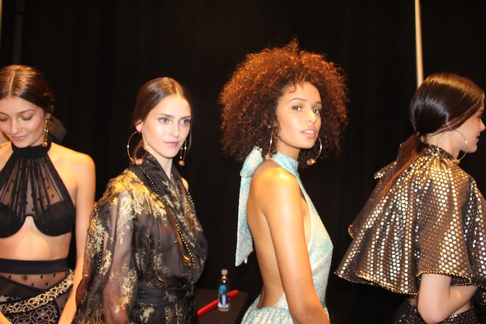 Zimmermann Backstage beauty New York Fashion Week 2014
