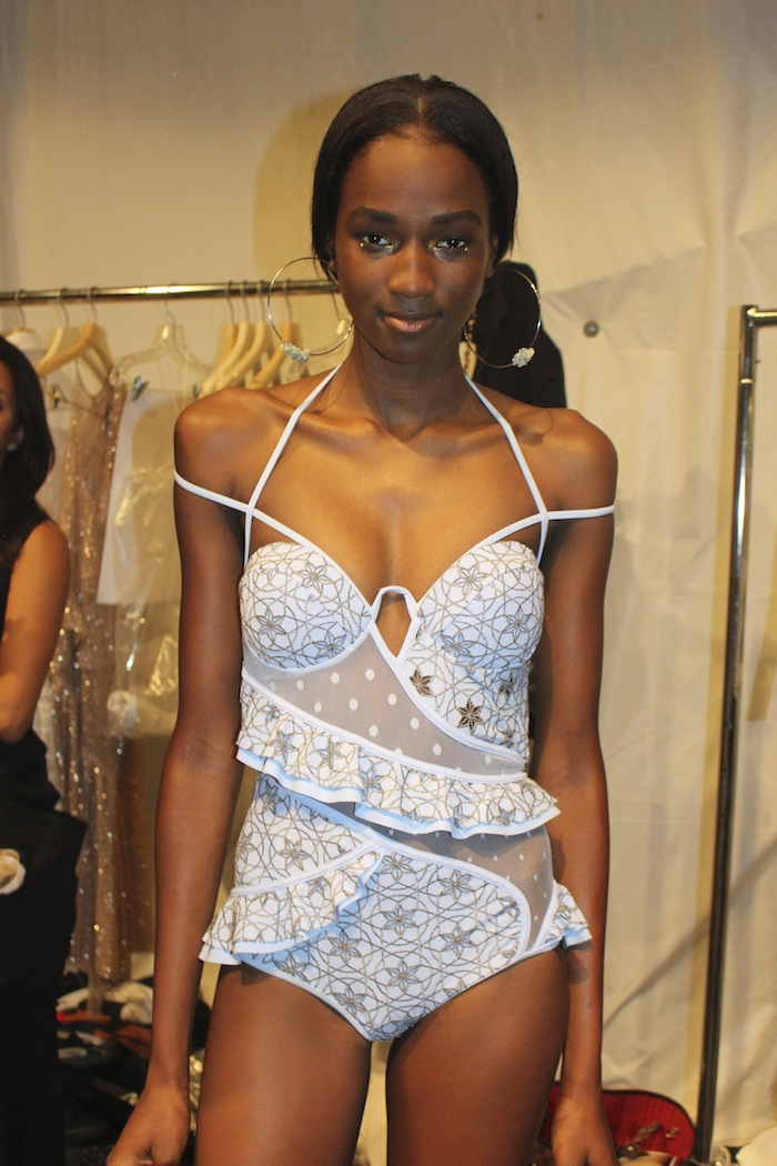 Zimmermann Bathing Suit Backstage New York Fashion Week Spring 2015 Show