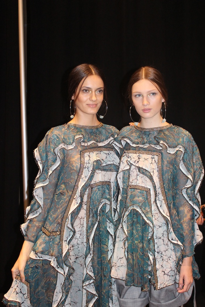 Zimmermann New York Fashion Week Gorgeous Models Backstage September 2014 hottest style trends