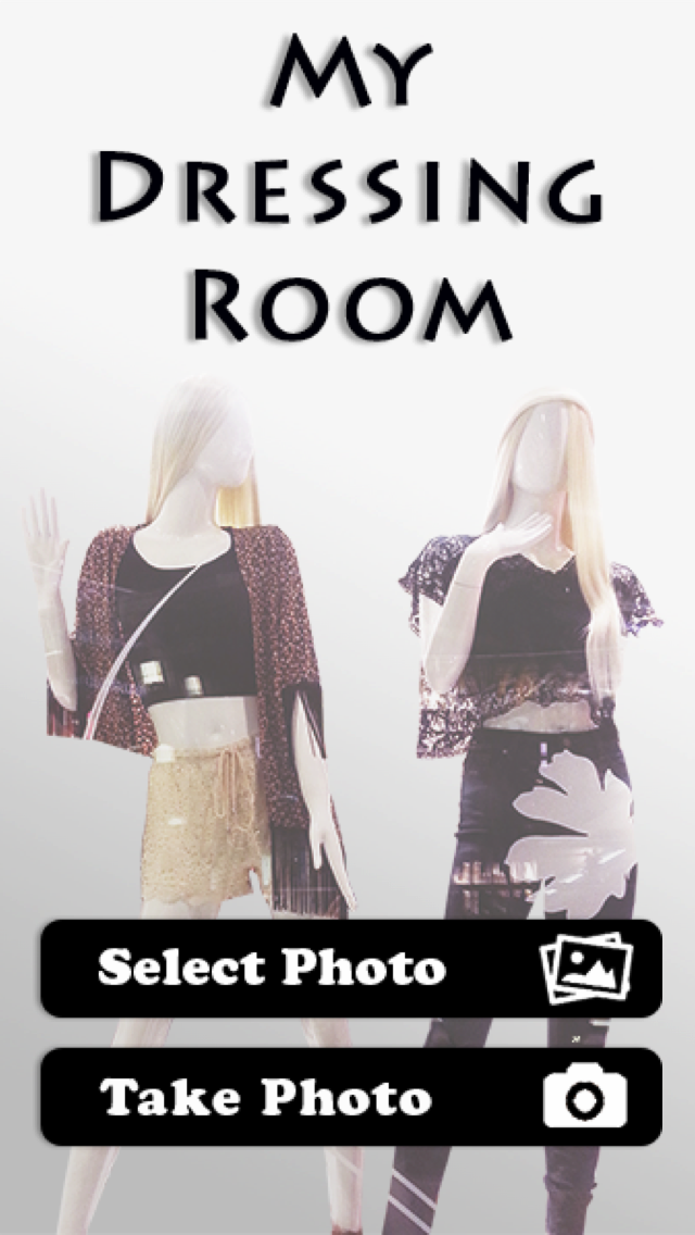 Dressing Room App allows you to try on outfits from your phone app
