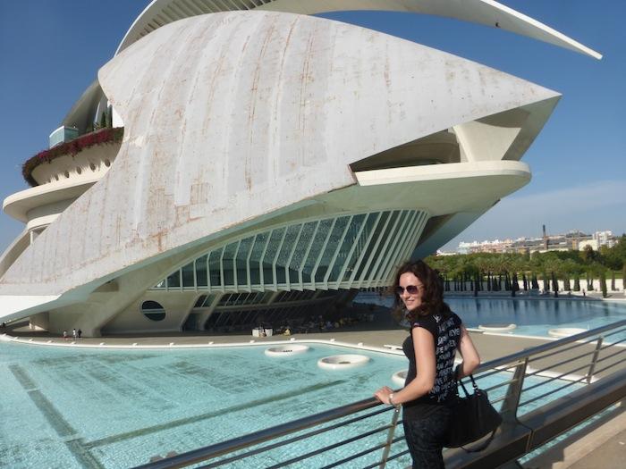 Fashion Blogger Balenciaga Valencia Spain El Palau de les Arts Reina Sofía