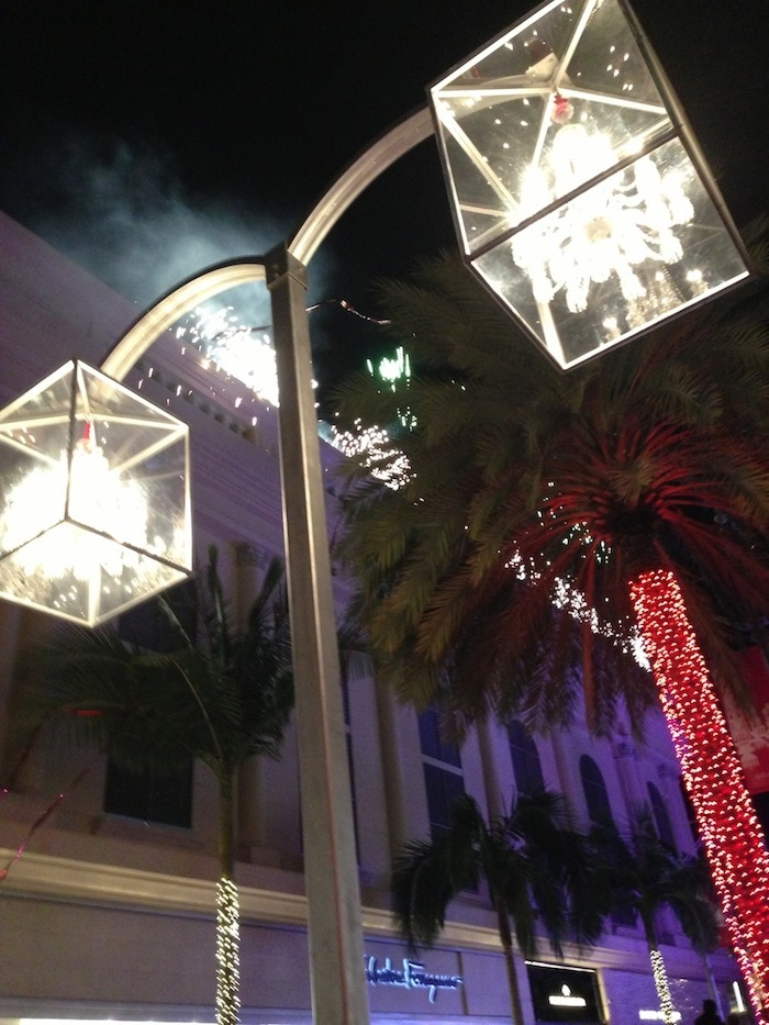 Baccarat on Rodeo Drive Beverly Hills Holiday Parties 2014 LA