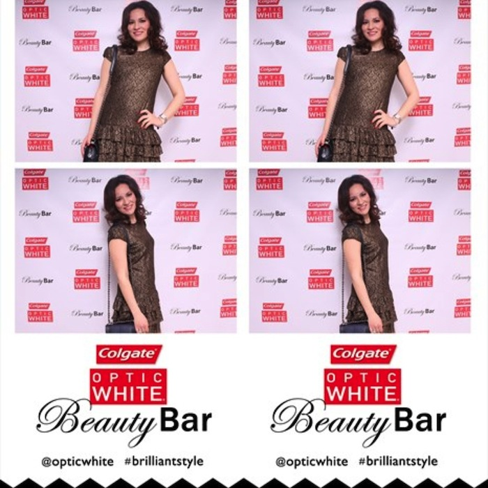 LA fashion blogger during award seasons in LA Golden Globes Optic White Beauty Bar