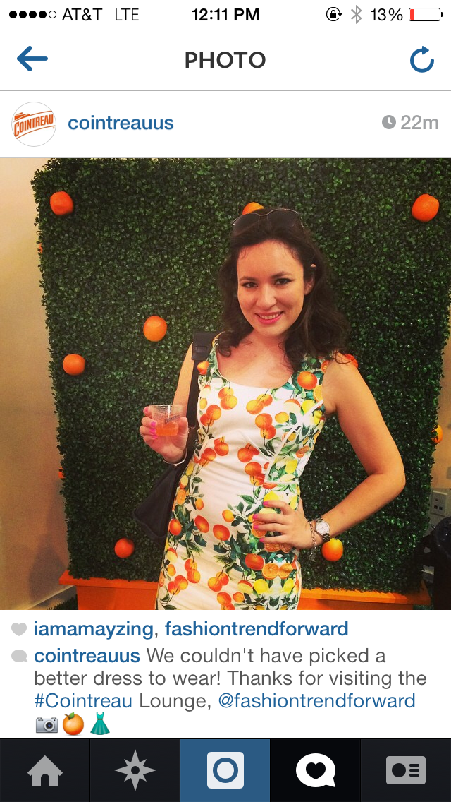 New York Fashion Week New York Orange dress by Single Dress