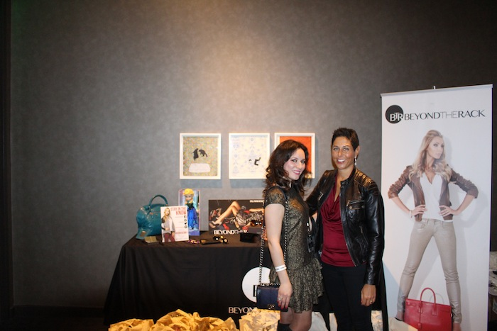 With Beyond The Rack at GBK Golden Globes Gift Lounge 2015 at The W Hotel Hollywood