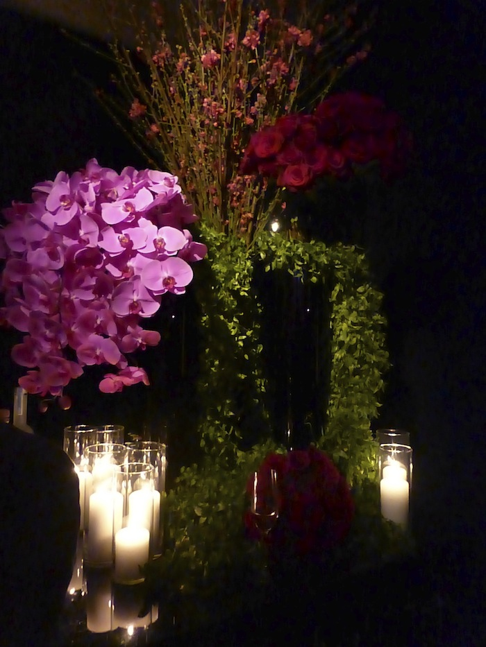 Orchids Spago Beverly Hills Restaurant Bvlgari and Save the Children Event in Beverly Hills