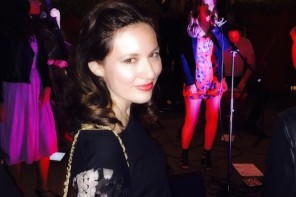 Fashionably Gossip Girl Leighton Meester Performs at Sky Bar