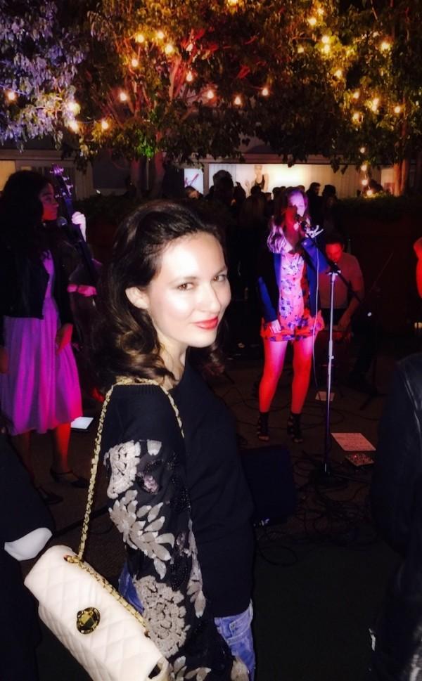 gossip girl fashion bloggers Leighton Meester Mondrian Skybar Fashion Trend Forward