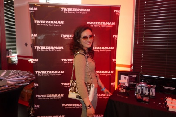 Tweezerman during Grammy GBK Gifting Suite