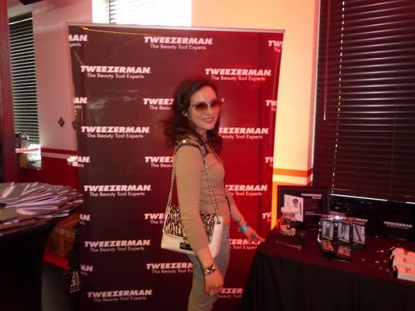 Tweezerman during Grammy GBK Gifting Suite