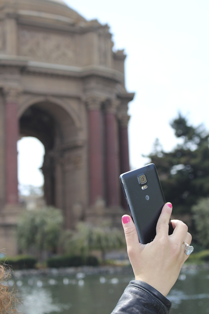Fashion Blogger Travel with my Samsung Galaxy Note 4 in San Francisco