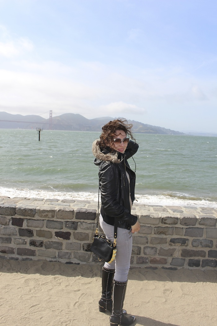 Fashion Blogger travel in San Francisco style trends
