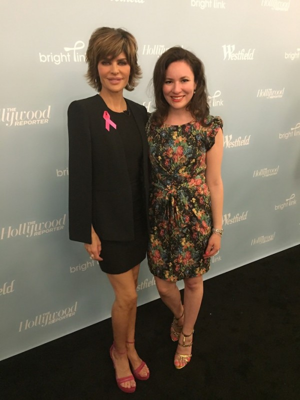 Westfield Cocktails and Couture Interview with Lisa Rinna