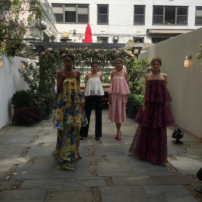 Sachin and Babi nyfw spring 2016 fashion presentation