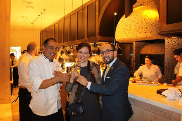Il Fornai With Head Chef and Sommelier Food Blogger Style