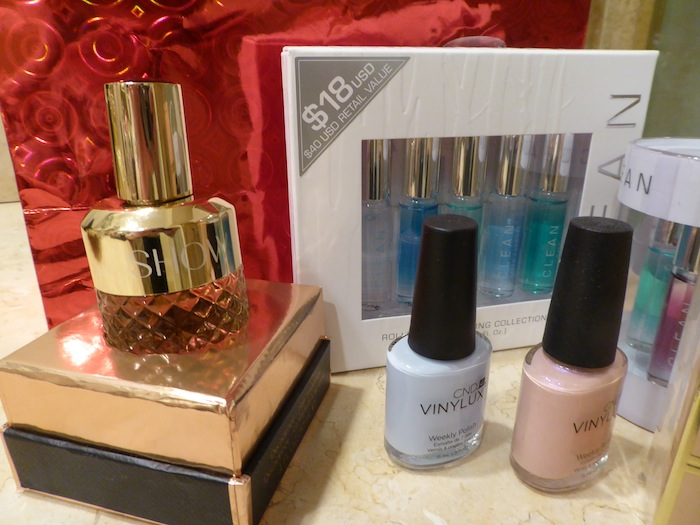 Style Blogger 2015 Holiday Gift Guide Show Hair Fragrance and CND Nail Polish gifts