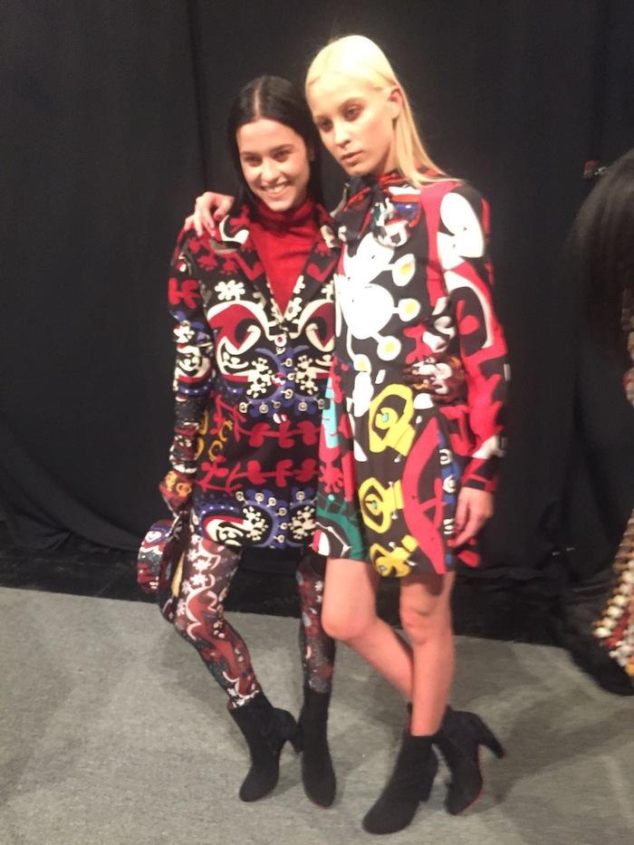 Backstage Desigual New York Fashion Week Runway Trends 2016