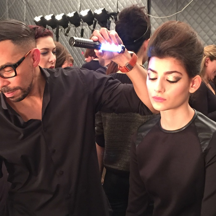 Beauty Trends Backstage Carmen Marc Valvo NYFW MAC Cosmetics