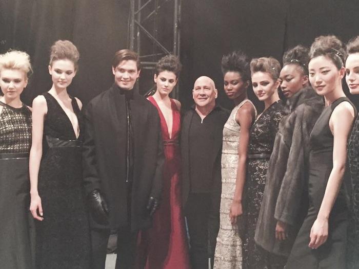 Carmen Marc Valvo NYFW 2016 Backstage With the Designer Blogger Spotlight