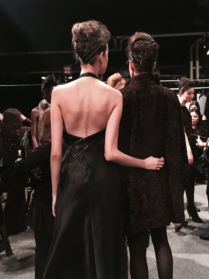 Carmen Marc Valvo New York Fashion Week Fall 2015 Fashion Blogger Spotlight