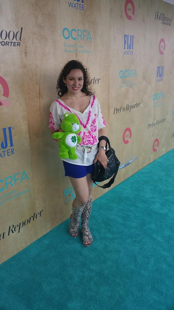 Fashion Blogger OCRFA Charity Event In Santa Monica QVC