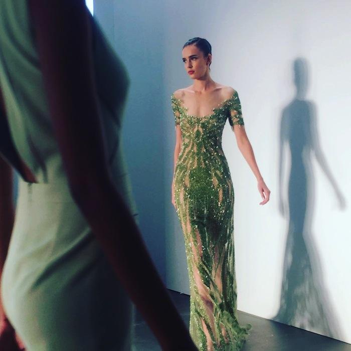 green-sequin-gown-pamella-roland-nyfw-runway-show-2016