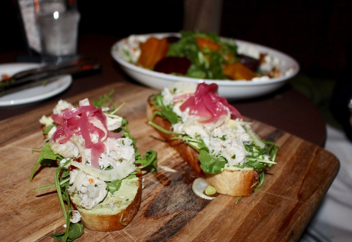 Best Crab Toast in Los Angeles Federal Bar NOHO