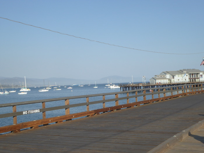 Santa Barbara Pier Beach Views