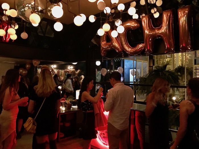 House of Achci Launch Party LA Doheny Room