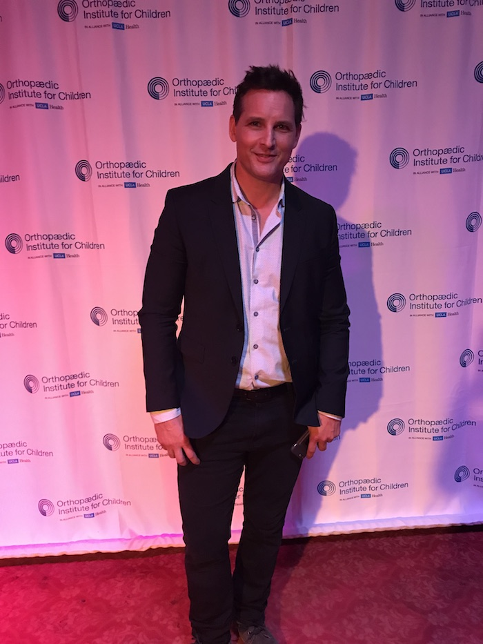 Peter Facinelli hosts the 2017 pre dinner for Orthopedic Institute for Children in Los Angeles