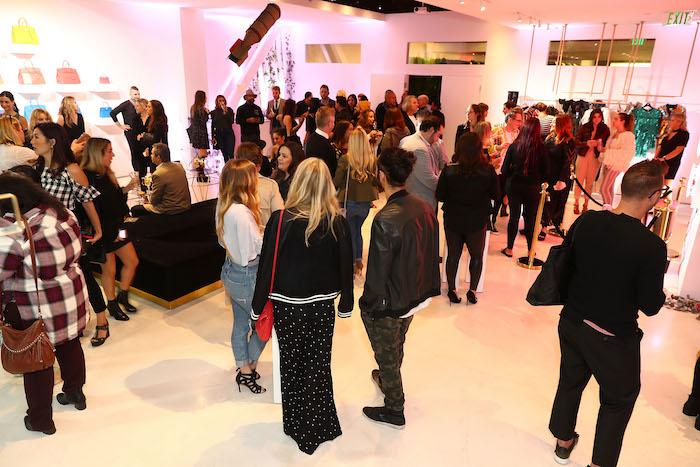 Tradesy Party in Santa Monica Illma Gore Designs November 2017