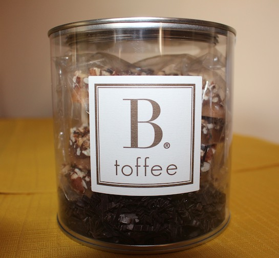 B Toffee From Newport Beach California Luxury Toffee Candy