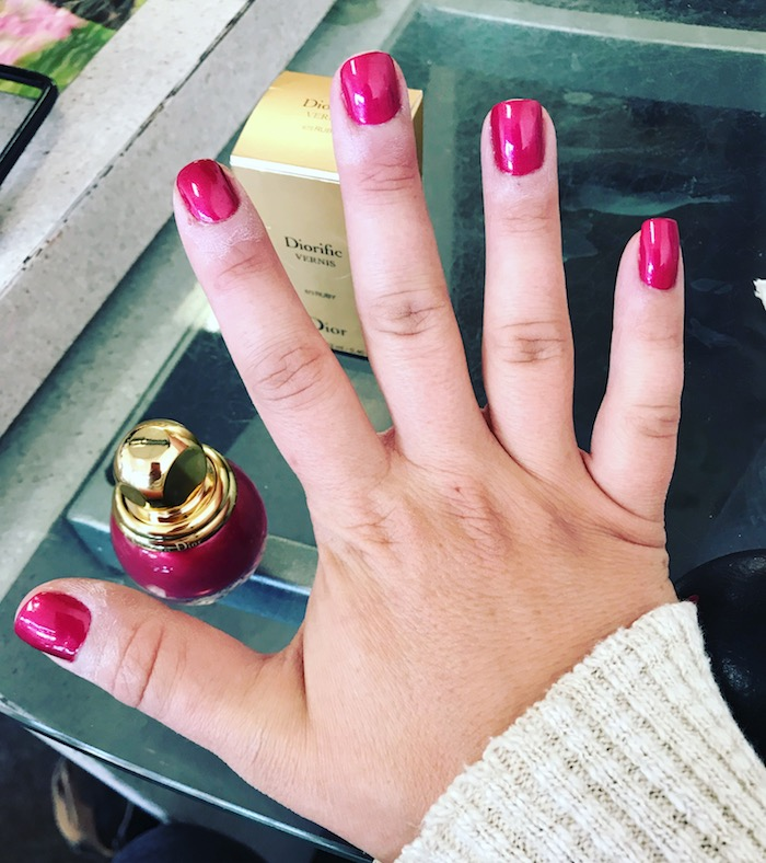 Dior Holiday Nails 2017 Nail Trends