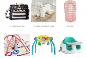 New Moms Wish List Holiday Gift Guide 2017