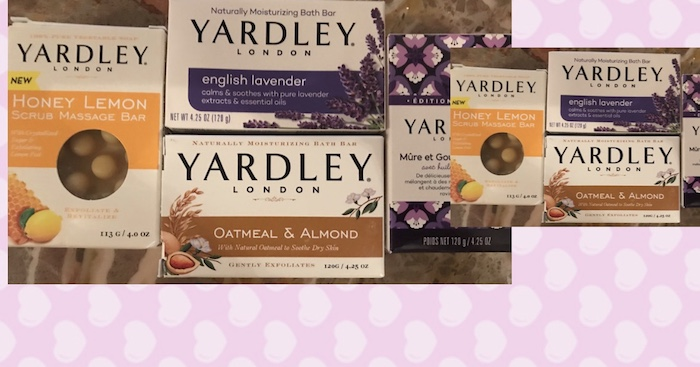 Yardley London Bath Soaps 2017 Holiday Clean