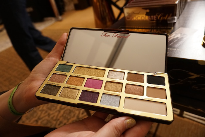 Too Faced Chocolate Eye Shadow Golden Globes 2018 Gift Trends in Beverly Hills