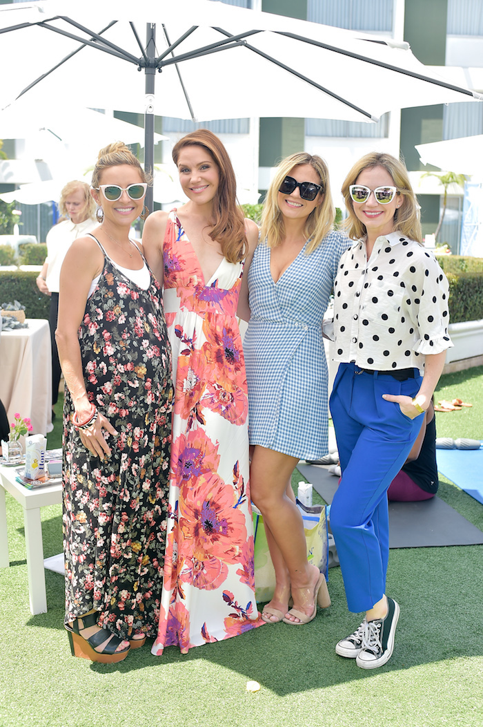 Christine Lakin, Virginia Williams, Vanessa Ray and Asheley Aubra attend Neocell Bloom Summit at Beverly Hilton Los Angeles