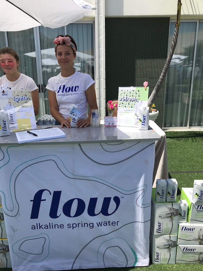 Flow alkaline spring water at Bloom Summit Event Beverly Hilton 2018