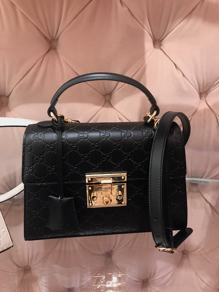 Gucci Black and Gold Handbag Hottest bags 2018