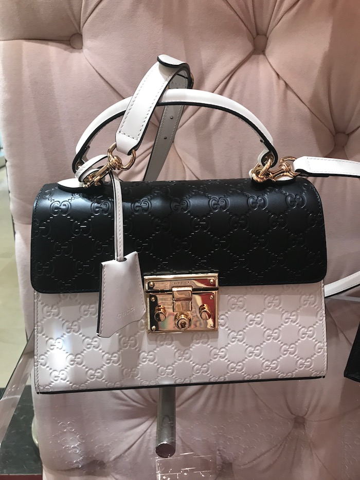 Gucci Black and White handbag