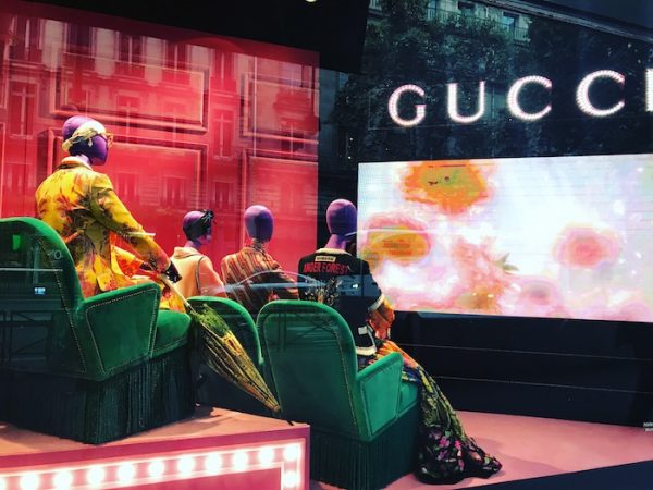 Gucci Windows in Paris