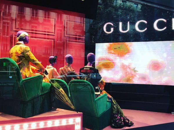 Gucci Windows in Paris
