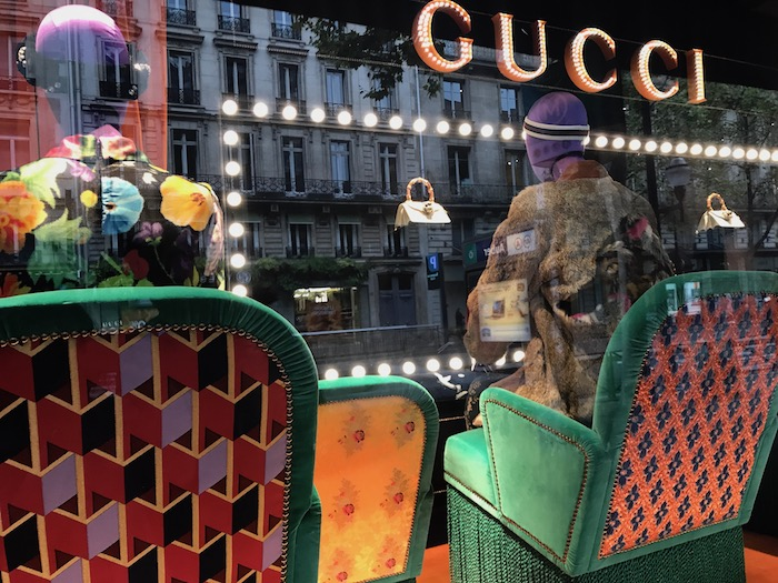 Gucci in Paris Gucci Windows Bag Trends
