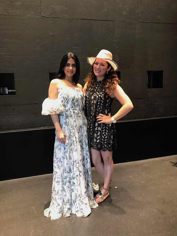 Emeraude Toubia at Simply Blogger Conference
